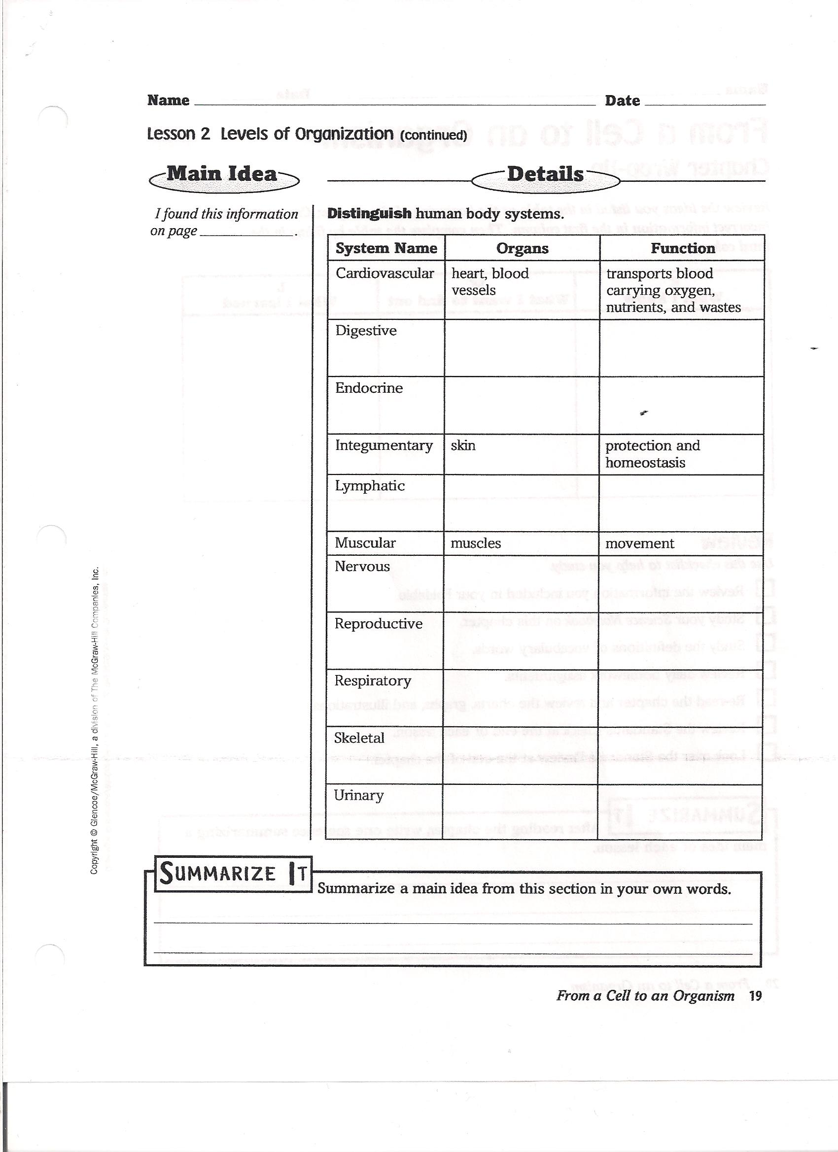 7th Grade Science Mrs Winters7th and 8th Science – Natural Selection Worksheets